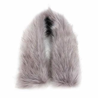 Ikasus Faux Fur Trim For Hood Replacement - dark gray