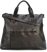 Numero 10 Woodstock tote - men - Leather - One Size