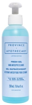 Province Apothecary Fresh Gel Antiseptic Hand Sanitizer, 250 ml