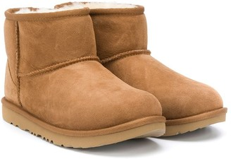 Ugg Kids TEEN shearling ankle boots