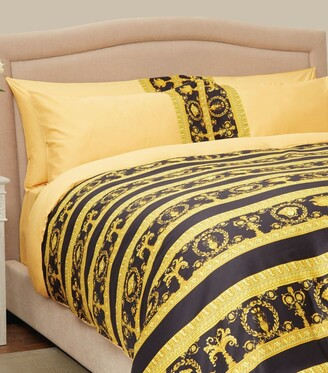 Versace La Coupe des Dieux Oxford Pillowcase Pair (53cm x 76cm)