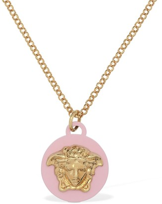 Versace Necklace W/ Medusa Pendant