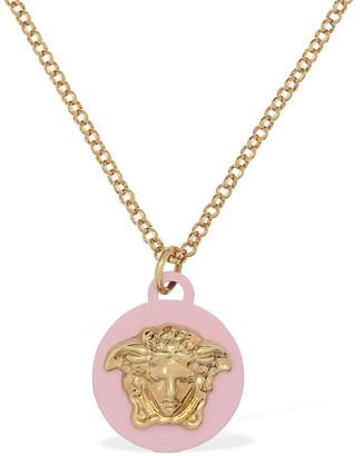 Versace Necklace W/ Medusa Pendant