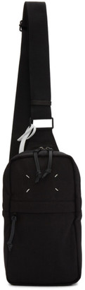 Maison Margiela Black Crossbody Backpack