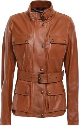 Belstaff Belted Leather Jacket