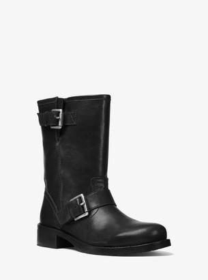 MICHAEL Michael Kors Jonas Leather Moto Boot