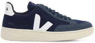 Veja 40mm V-12 Faux Leather Sneakers
