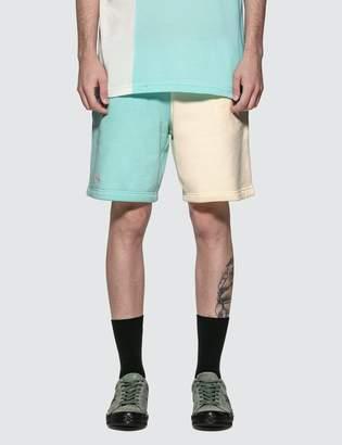 Lacoste GOLF le FLEUR* x Colorblock Jersey Shorts
