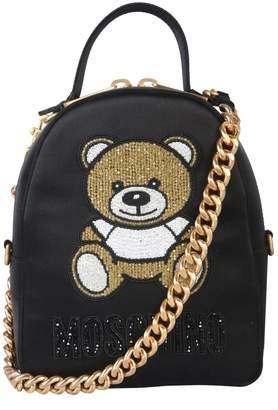 Moschino Zaino Teddy Chain Strap Backpack