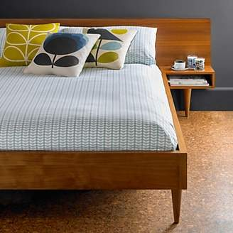 Orla Kiely Tiny Stem Cotton Bedding, Duck Egg