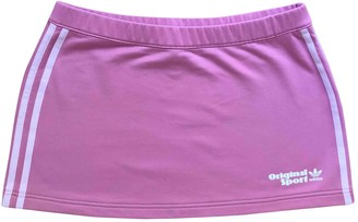 adidas Pink Cotton - elasthane Skirts