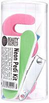 Beauty Secrets Neon Pedicure Kit