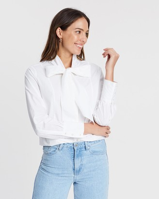 Scotch & Soda Crispy Cotton Boxy Fit Shirt