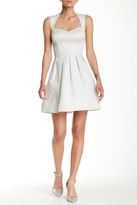 GUESS Sleeveless Fit & Flare Dress
