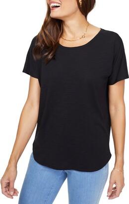 NYDJ Everyday Short Sleeve Cotton T-Shirt