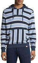 Orlebar Brown Karson Toweling Striped Hoodie