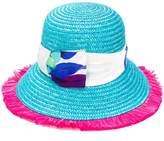 Etro floral strap hat