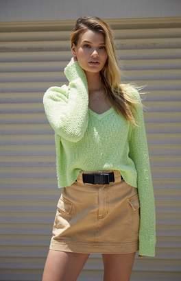 Pacsun PacSun Belted Cargo Skirt