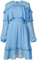 Prabal Gurung long-sleeved ruffle dress