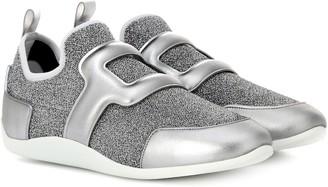 Roger Vivier Sporty Viv' metallic sneakers