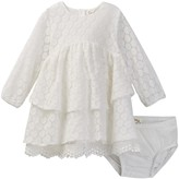 Jessica Simpson Lace Dress and Bloomers Set (Baby Girls)