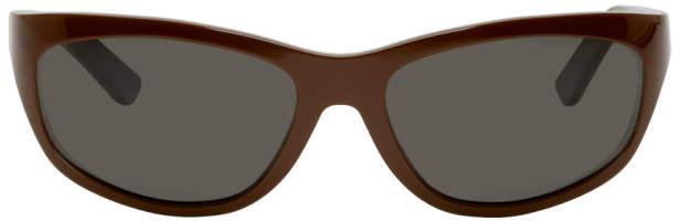 Acne Studios Bla Konst Brown Lou Sunglasses