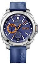 HUGO BOSS Brisbane Blue Dial SS Silicone Multi Quartz Men's Watch 1513102