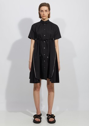 Sacai Cotton Poplin Dress