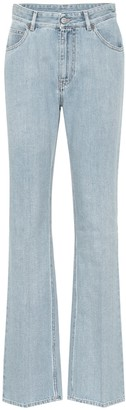 MM6 MAISON MARGIELA High-rise bootcut jeans