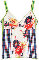 Marni Printed Top with Cotton and Silk