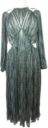 Zimmermann Green Silk Dresses