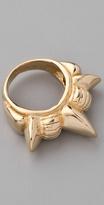 Tribal Spike Band Ring