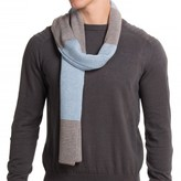 Portolano Dorset Stripe Scarf - Merino Wool (For Men)