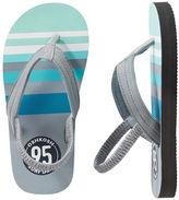 Osh Kosh OshKosh Striped Logo Flip Flops