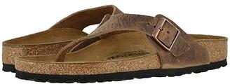 Birkenstock Como (Camberra Tobacco Oiled Leather) Men's Sandals