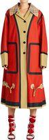 Burberry Runway Ss18 Cotton Gabardine Trench Coat