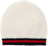 Gucci Kids striped knitted beanie