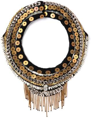 Mignonne Gavigan Petite Layne Necklace in Black