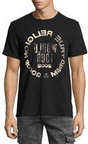 True Religion Selfie Logo Men's T-Shirt, Black
