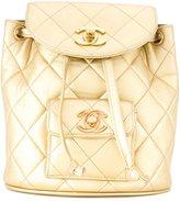 Chanel Vintage mini sac à dos matelas