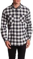 James Campbell Hollis Plaid Woven Shirt