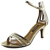 Kay Unger Basque W Open-toe Synthetic Slingback Heel.