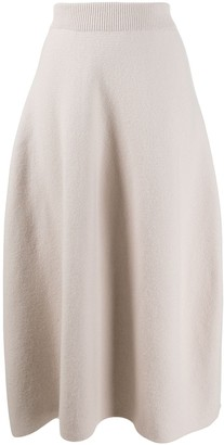Christian Wijnants Flared Midi Skirt
