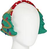 MIXIT Mixit Knit Christmas Tree Earmuffs