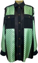 Ungaro Green Silk Top for Women