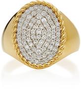 Yvonne Leon 14K Gold Diamond Ring