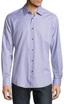 Pal Zileri Slim-Fit Stripe Dress Shirt