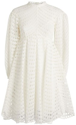 Zimmermann Eyelet Poppy Mini Dress