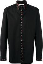 Givenchy embellished trim shirt - men - Cotton - 39