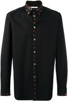 Givenchy embellished trim shirt